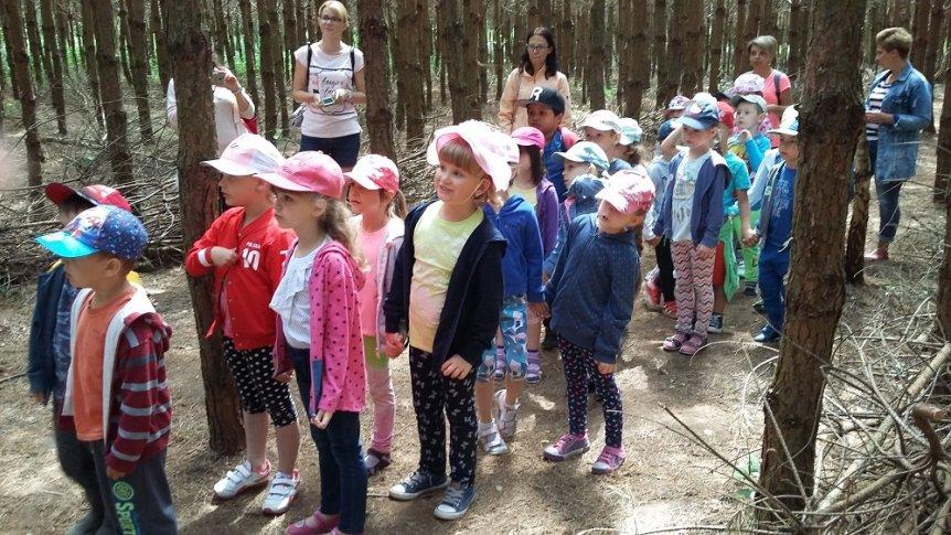 Wycieczka Przedszkolaków z ZPPO w Broku do Parku Zabaw i Edukacji