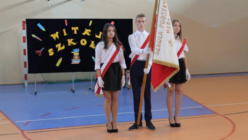 Rozpoczęcie roku szkolnego w Zespole Publicznych Placówek Oświatowych w Broku