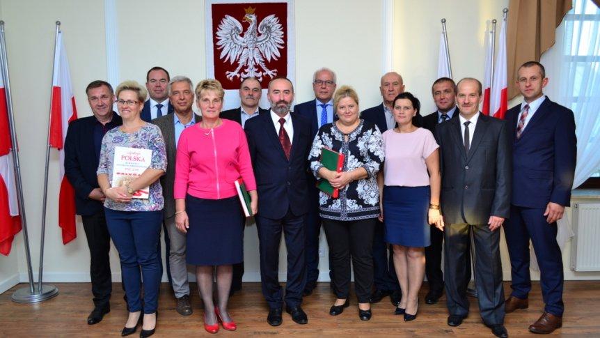 XXX sesja Rady Gminy w Broku - ostatnia w kadencji 2014 - 2018