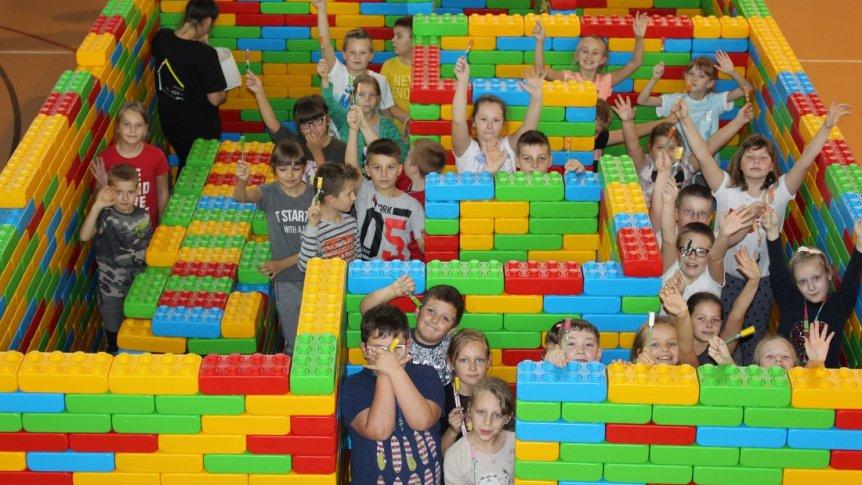 """Warsztaty kreatywno-integracyjne """"Mali Architekci"""" w ZPPO w Broku"""