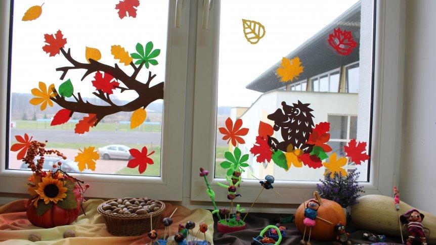 Konkurs na najładniejszą dekorację sali w jesiennej scenerii w ZPPO w Broku - rozstrzygnięty