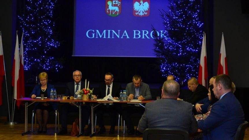 II sesja Rady Gminy w Broku kadencji 2018 - 2023