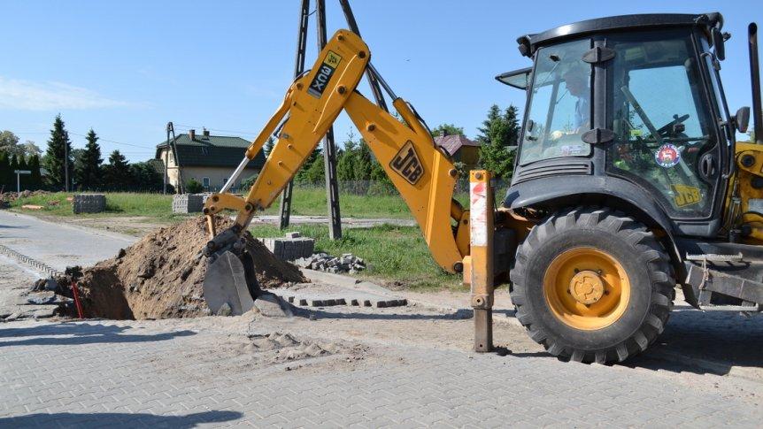 Budowa kanalizacji deszczowej w Broku