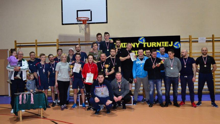 IV Gminny Turniej Piłki Siatkowej o Puchar Burmistrza Gminy Brok