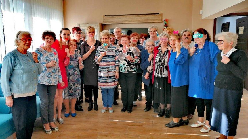 Spotkanie wielkanocne Klubu Seniora z Broku