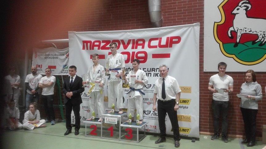 Złoto w Mazovia Cup