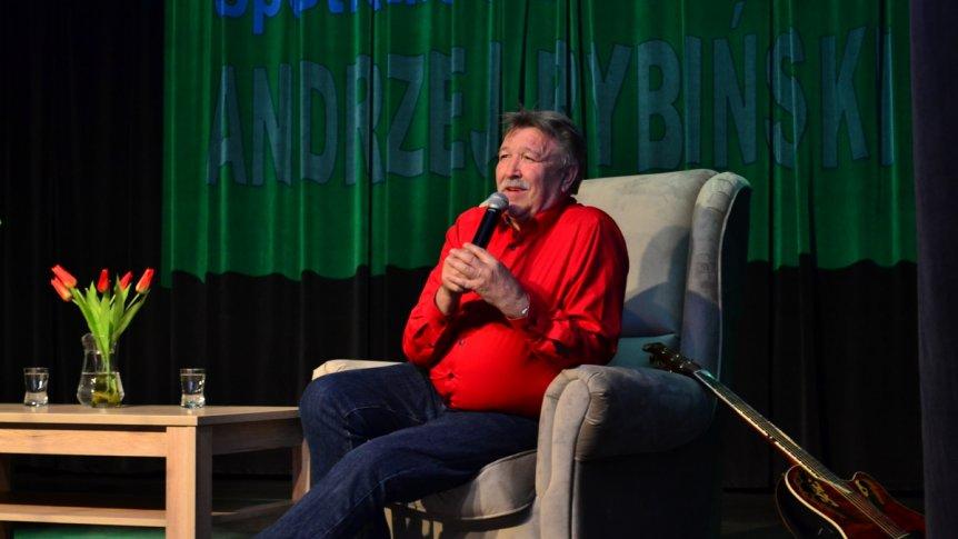 Andrzej Rybiński zaśpiewał dla mieszkańców Broku
