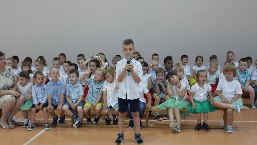 Przedszkolaki z Przedszkola Miejskiego w Broku świętowały Dzień Rodziny