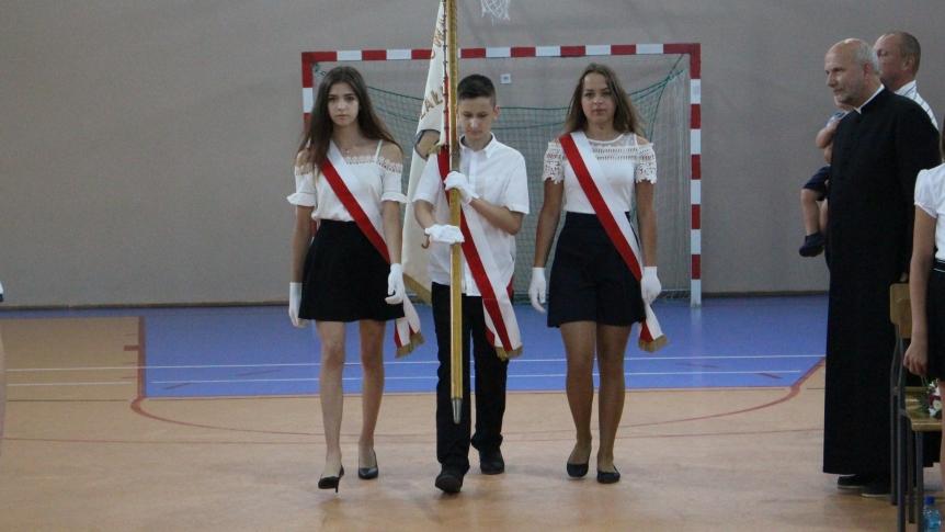 Uroczyste zakończenie roku szkolnego w Zespole Publicznych Placówek Oświatowych w Broku