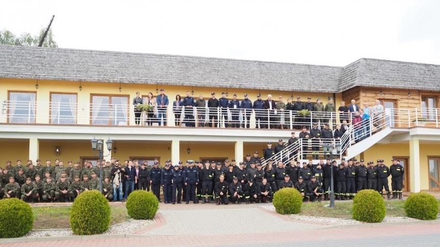 Wojewódzkie Ćwiczenia Sztabowo-Terenowe pk. BUG 2019 w Broku