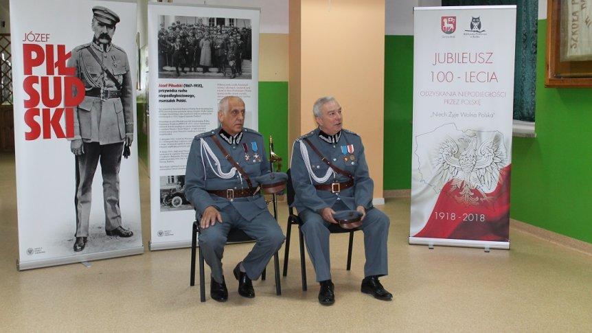 Spotkanie z przedstawicielami Związku Piłsudczyków RP Oddziału w Ostrowi Mazowieckiej w ZPPO w Broku
