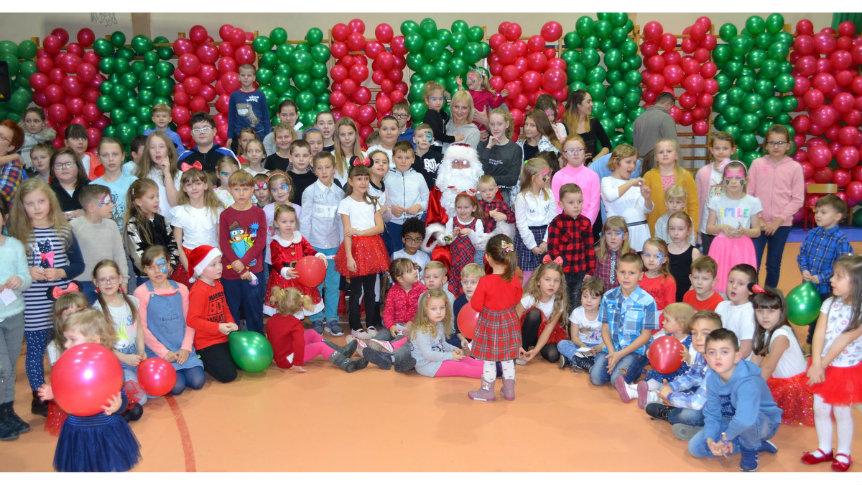 Wizyta Świętego Mikołaja w Broku