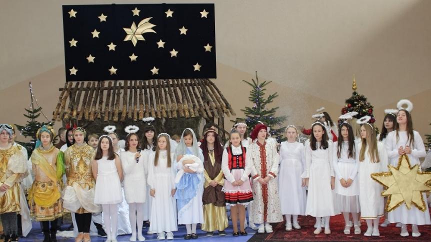 Jasełka Bożonarodzeniowe w ZPPO w Broku