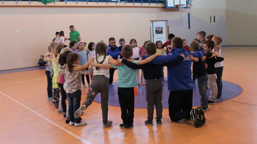 Pokazowy Trening Szkółki Piłkarskiej dla dzieci z ZPPO w Broku