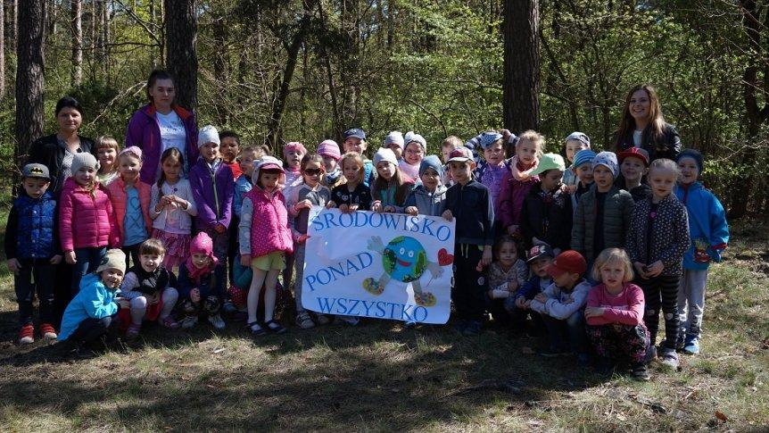 Światowy Dzień Ziemi w Przedszkolu Miejskim w Broku