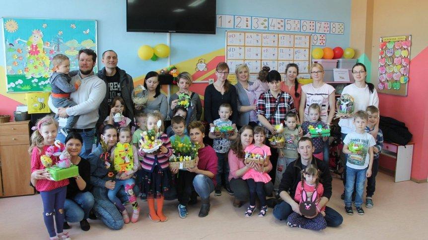 Wielkanocne warsztaty z Rodzicami w Przedszkolu Miejskim w Broku
