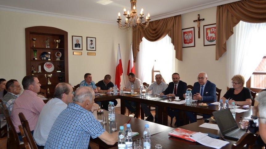 XXVI sesja Rady Gminy w Broku