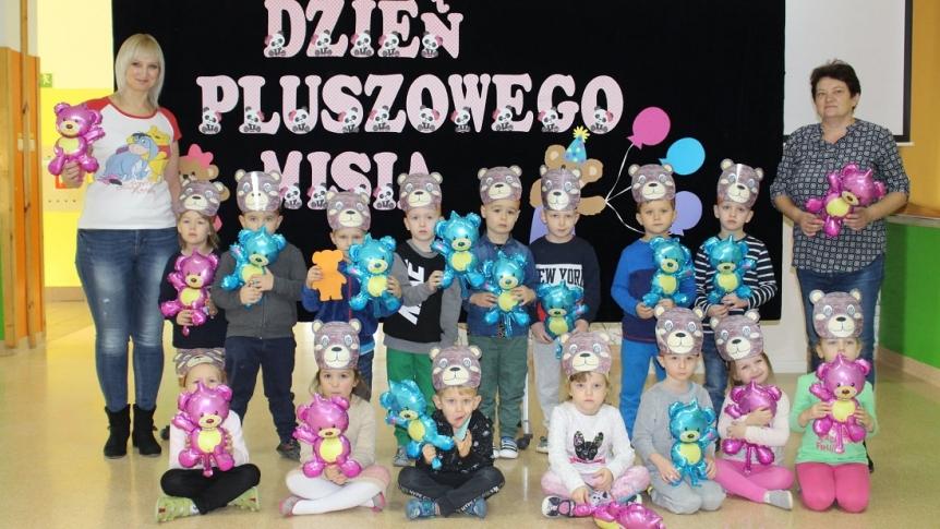 Obchody Dnia Pluszowego Misia w Przedszkolu Miejskim w Broku